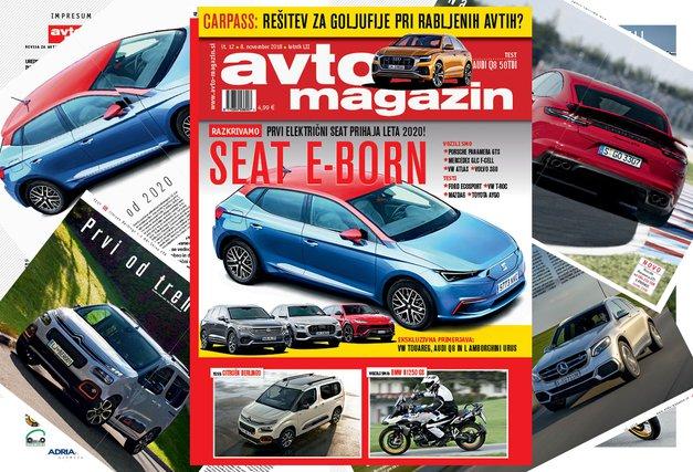 Izšel je novi Avto magazin! Testi: Audi Q8, Citroen Berlingo, Mazda6, Ford Ecosport (foto: mj)