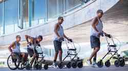 Fundacija Wings for life pomagala trem paraplegikom znova stopiti na noge