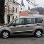 Novo v Sloveniji: Ford Fiesta Active, Ford Courier in Ford Tourneo (foto: Matija Janežič)