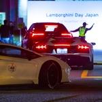 Na Japonskem 200 Lamborghinijev pozdravilo rekorderja Zelenega pekla (foto: Lamborghini)
