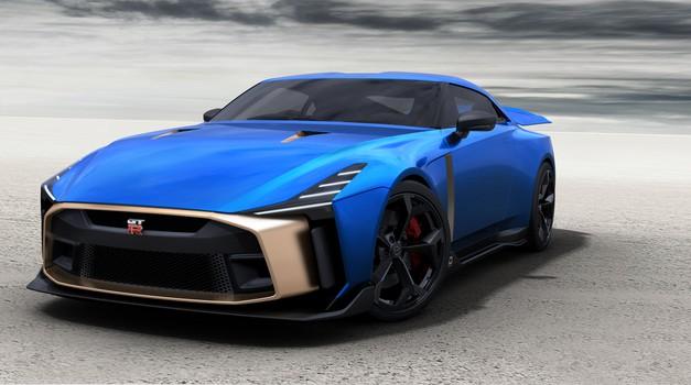 Nissan je potrdil proizvodnjo Nissana GT-R50 by Italdesign (foto: Nissan)