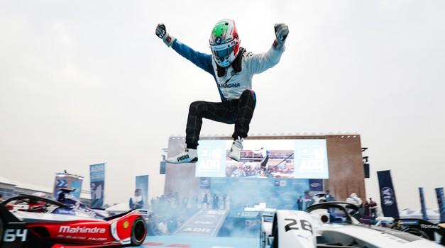 Formula E: Da Costa je osvojil zgodovinsko prvo zmago z dirkalnikom Formule E druge generacije (foto: FIA Formula E)