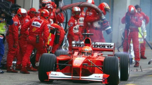 Ferrari bo s posebno razstavo zaznamoval 50. rojstni dan Michaela Schumacherja (foto: Ferrari, Profimedia)