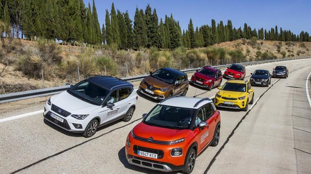 Najbolj priljubljenih 10 v letu 2018: avtomobilski testi (foto: Arhiv AM)