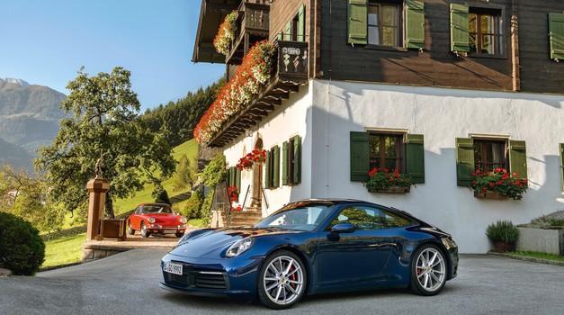 Porsche z novim sistemom do večje varnosti v primeru akvaplaninga (foto: Porsche)