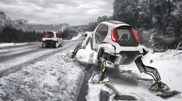 Hyundai predstavlja hodeči avtomobil (foto: Hyundai)