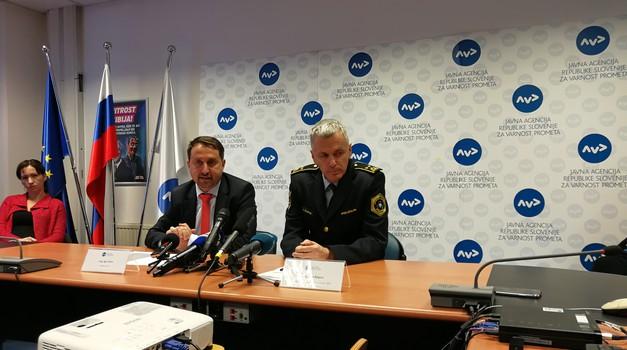 Slovenija v letu 2018 uspešna na področju večanja varnosti v cestnem prometu (foto: Jure Šujica)