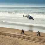 Dakar 2019: Peti dan v znamenju dirkačev iz ozadja (foto: Dakar Rally)