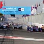 Formula E: Zmaga D'Ambrosia po trčenju BMW-jev v Marakešu (foto: FIA)