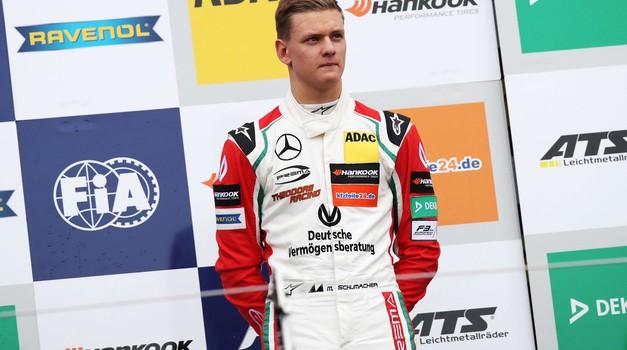 Mick Schumacher novi bodoči testni voznik Ferrarija v F1? (foto: Profimedia)