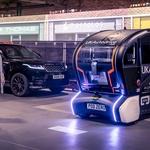 Jaguar Land Roverjevi avtonomni avtomobili bodo smer vožnje sporočali s svetlobnimi znaki (foto: Jaguar Land Rover)