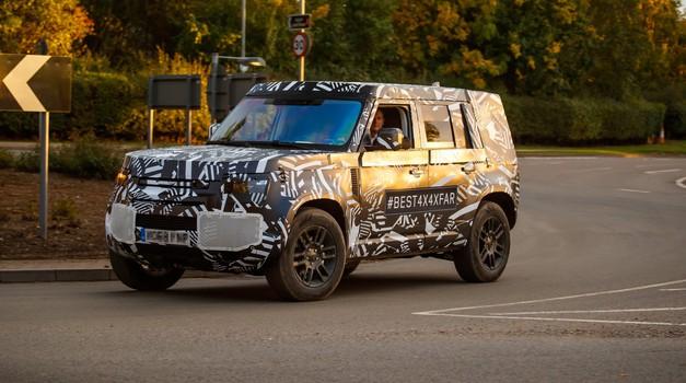 Prihajajoči Defender ključnega pomena za prihodnost znamke Land Rover (foto: Arhiv AM)