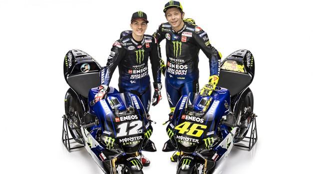 MotoGP: moštvo Yamahe v sezoni 2019 odeto v črno barvo (foto: Yamaha)