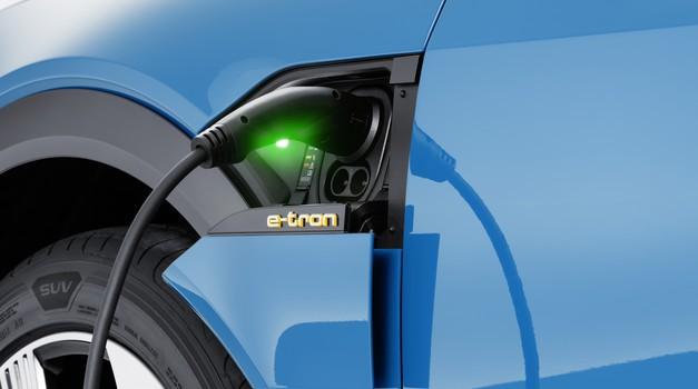 Audi bo z električnimi polnilnicami preplavil Evropo (foto: Audi)