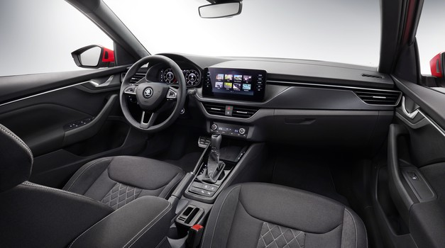 Škoda Kamiq je razkrila svojo notranjost (foto: Škoda)