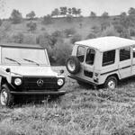 Razred G praznuje 40. rojstni dan - kako je nastal najbolj znan nemški terenec? (foto: Daimler AG)