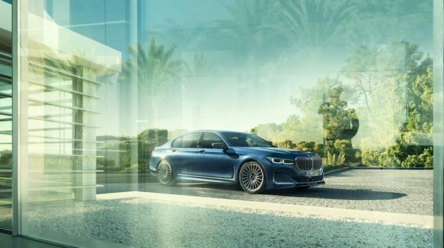 Najhitrejši BMW serije 7 bo nosil logotip Alpine (foto: Alpina)
