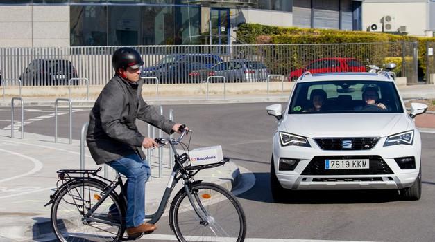 Seat do večje varnosti s tehnologijo 5G (foto: Seat)
