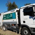 Zaenkrat tovornjak za odvoz smeti še vedno deluje na nafto, a bi se to lahko kmalu spremenilo (foto: Turizem Bled)