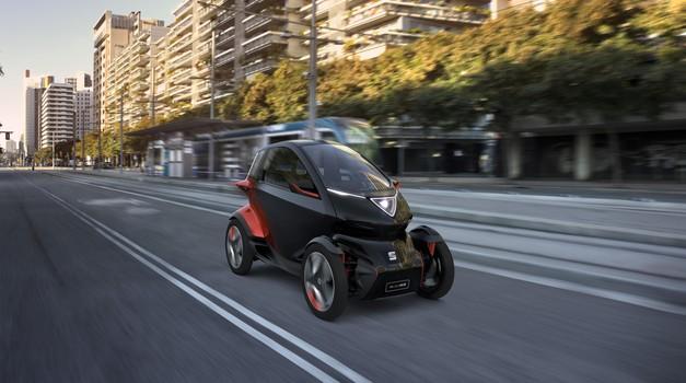 Seat Minimo napoveduje prihodnost osebne urbane mobilnosti (foto: Seat)