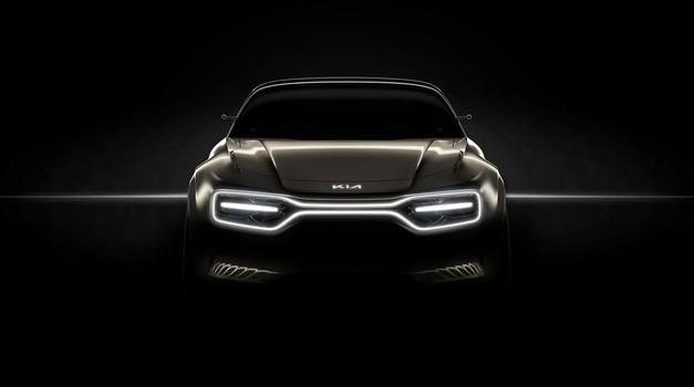 Kijin skrivnostni električni koncept bo štirivratna športna limuzina (foto: Kia)