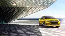 Škoda s študijo Vision iV napoveduje nov korak v električno mobilnost