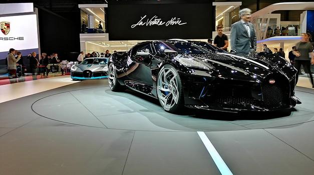 Ženeva 2019: Bugatti časti 110. obletnico znamke z nepričakovanim unikatom (foto: Dušan Lukič)
