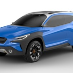 Ženeva 2019: Subaru Viziv in vizija povezovanja z naravo (foto: Subaru)