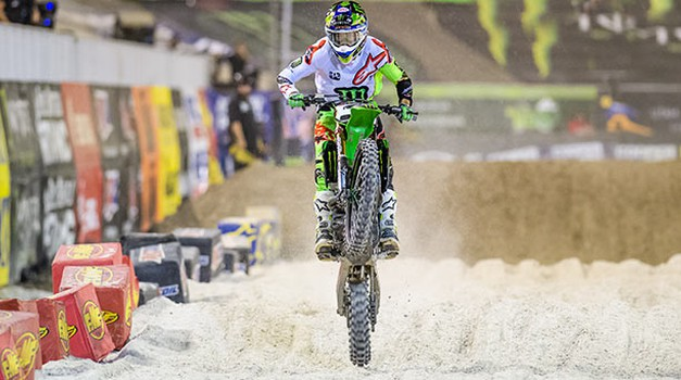 Monster Energy Supercross: letošnja Daytona potekala po pričakovanjih (video) (foto: Kawasaki)