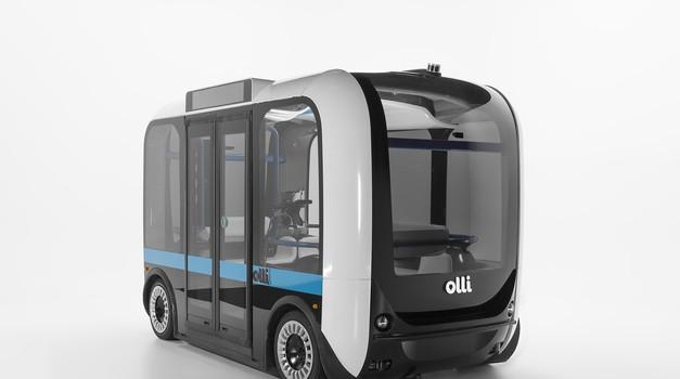Avtonomni avtobus podjetja Local Motors bo opremljen z Goodyearovimi pnevmatikami (foto: Goodyear)