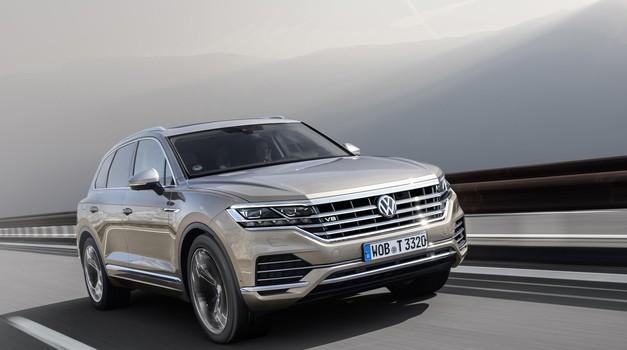 Aktualni Volkswagen Touareg bo zadnji z osemvaljnikom pod motornim pokrovom (foto: Volkswagen)