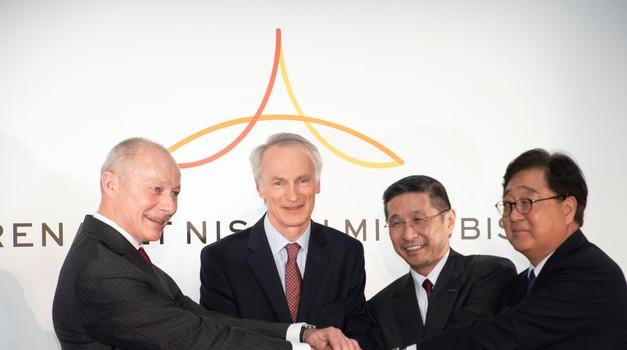 Renault, Nissan in Mitsubishi začenjajo znova (foto: Renault)