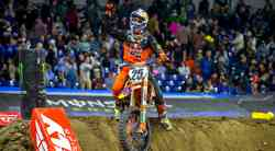 Monster Energy Supercross: veselje Musquina v Indianapolisu