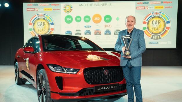 Jaguar I-Pace je najboljši v Evropi! (foto: Jaguar)