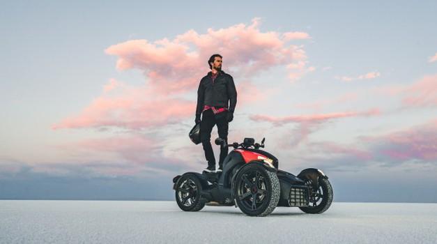 Zapeljite se z novim Can-Am Rykerjem tudi sami (foto: Ski&Sea)