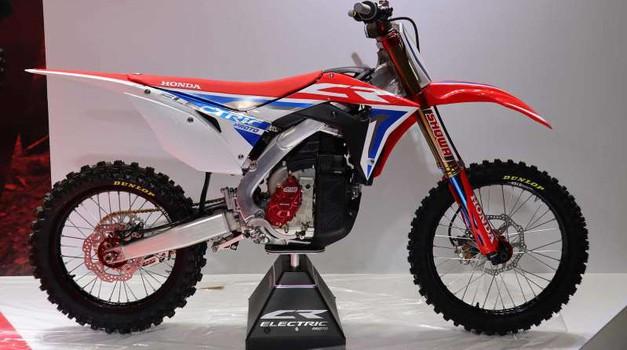 Motokros: Honda predstavila električni motocikel (foto: Honda)