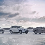 Elektromobilnost v skrajnosti: BMW iX3, BMW i4 in BMW iNEXT v arktičnem krogu (foto: BMW)