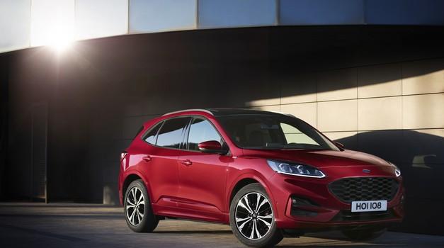 Ford  Puma se vrača kot križanec z 48-voltno tehnologijo; predstavljena tudi nova Kuga (foto: Ford)