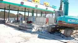 Prihodnji teden začetek rušenja preostanka cestninskih postaj