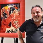 Slovenec dubajskim milijonarjem predstavil svoje umetnine na steklu (foto: Aaron Meriwether)