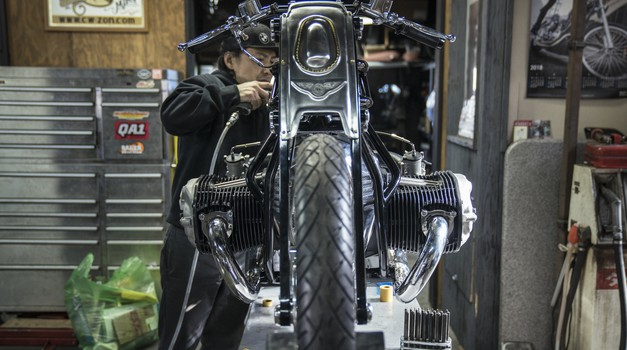 Se BMW podaja v spopad z Harleyjem? (foto: Jure Šujica)