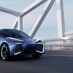 Avto Šanghaj 2019: Električni C-HR kot napovednik električne prihodnosti (foto: Toyota)