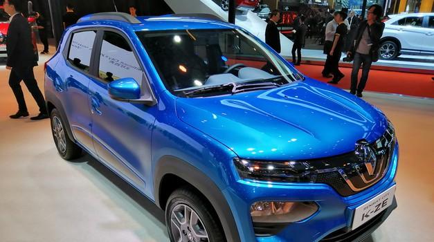 Avto Šanghaj 2019: Renault z električnim predstavnikom tudi v segmentu A (foto: Dušan Lukič)