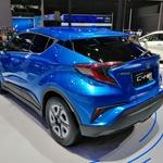 Avto Šanghaj 2019: Električni C-HR kot napovednik električne prihodnosti (foto: Dušan Lukič)