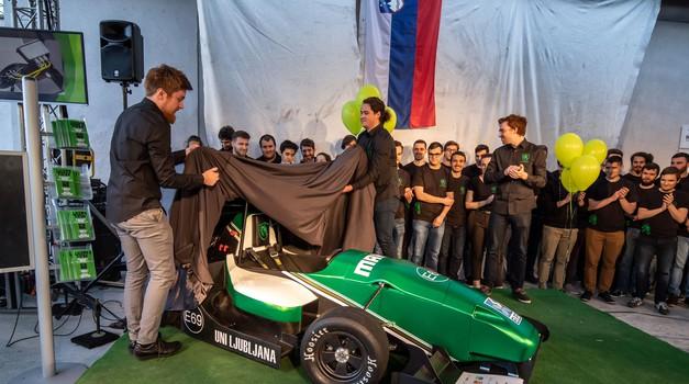 Formula Student znova na elektriko (foto: Uroš Modlic)