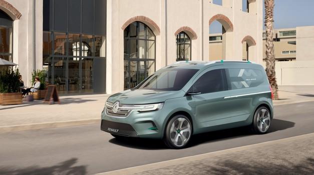 Takšen bi lahko bil novi Kangoo (foto: Renault)