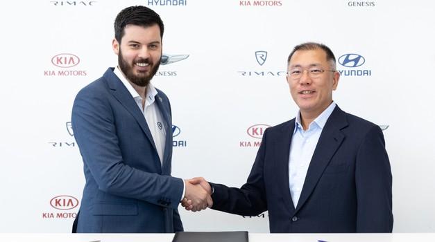 Hyundaiev električni športnik bo nosil DNK znamke Rimac (foto: Hyundai)