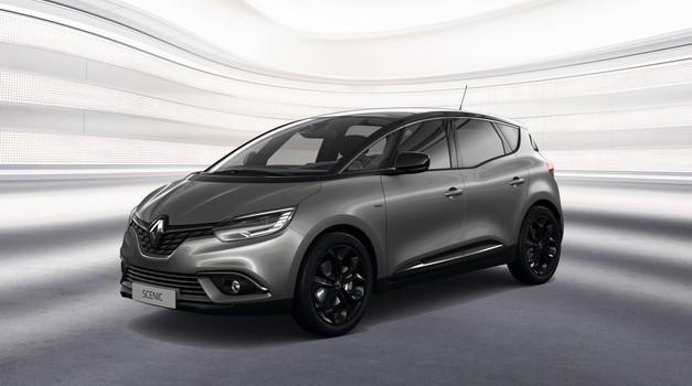 Renault bo 'počrnil' oba Scenica (foto: Renault)