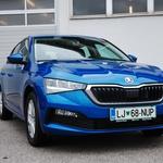 Novo v Sloveniji: Škoda Scala (foto: Jure Šujica)