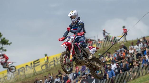 Motokros: Gajser dominiral na četrti dirki domačega prvenstva (foto: Honda)